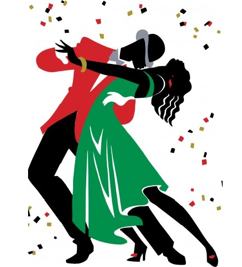 Tango. Bygone era of romance and elegance in Illustration of American artist Ty Wilson