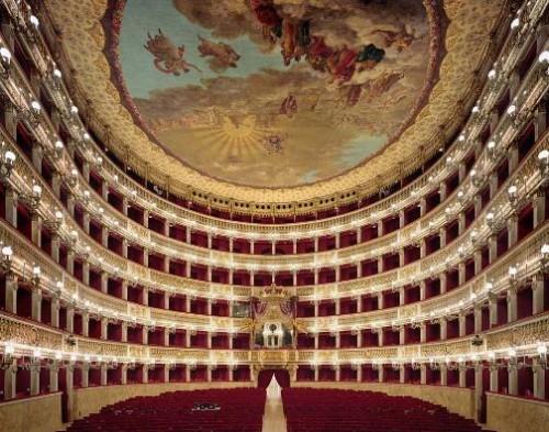 Teatro di San Carlo, Naples, Italy. Photo by David Leventi