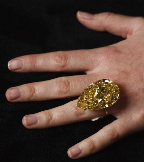 Sun-Drop Diamond - one of the most stunning diamonds in the world