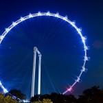 A giant Ferris wheel – The Singapore Flyer