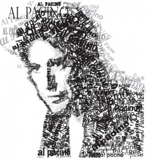 Typographic Portrait