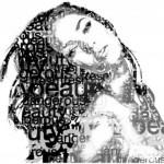 Beauty Typographic Portrait