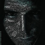 Nine Inch Nail Typographic Portrait