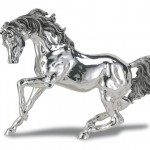 Beautiful silver figurine made by Italian silver masters Valenti & Co Silver