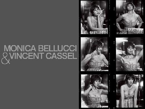 Vincent Cassel and Monica Bellucci