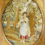 Beautiful Antique European embroidery