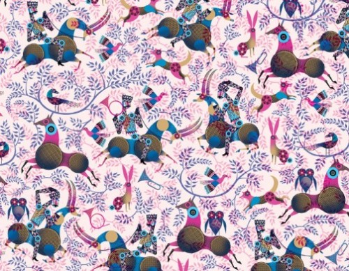 Colorful Illustrations by British artist Lesley Barnes