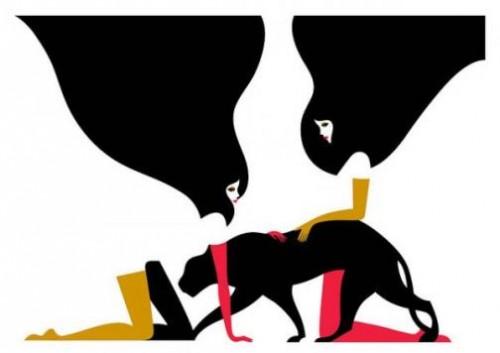Illustrations by French artist Malika Favre