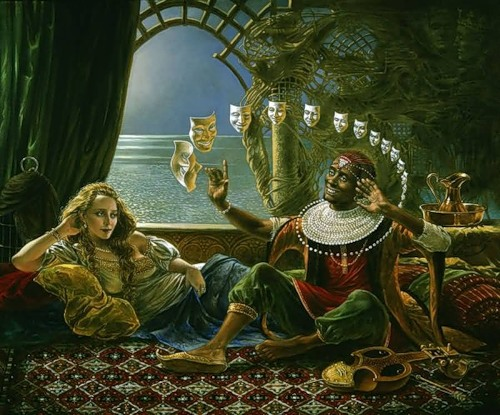 paintings by Michael Cheval