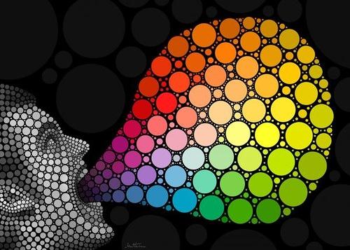 give me colors. Digital Art by Ben Heine