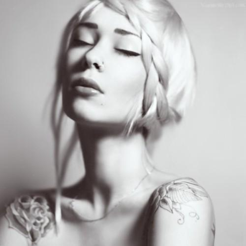 self-portrait by Maria Kuzmenkova