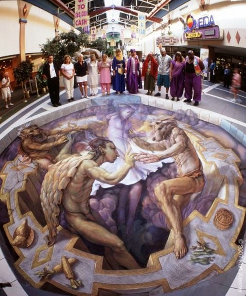 Pavement Art by Kurt Wenner