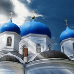 Traditionally, Color of domes are sapphire blue color