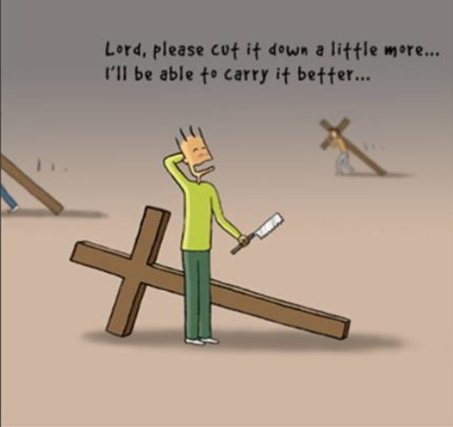 The cross we carry