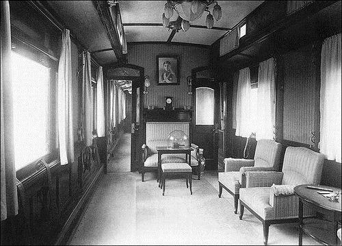 Russian Emperors train. A living room