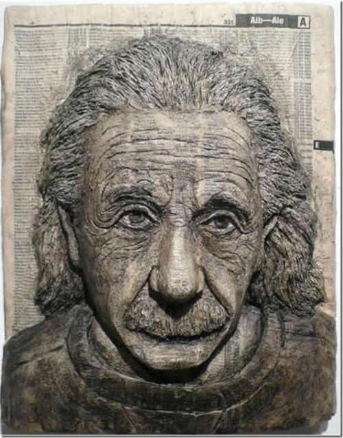 Phone Book Carvings by Alex Queral