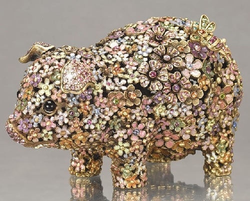 Animal Figurines by American jewelry designer Jay Strongwater