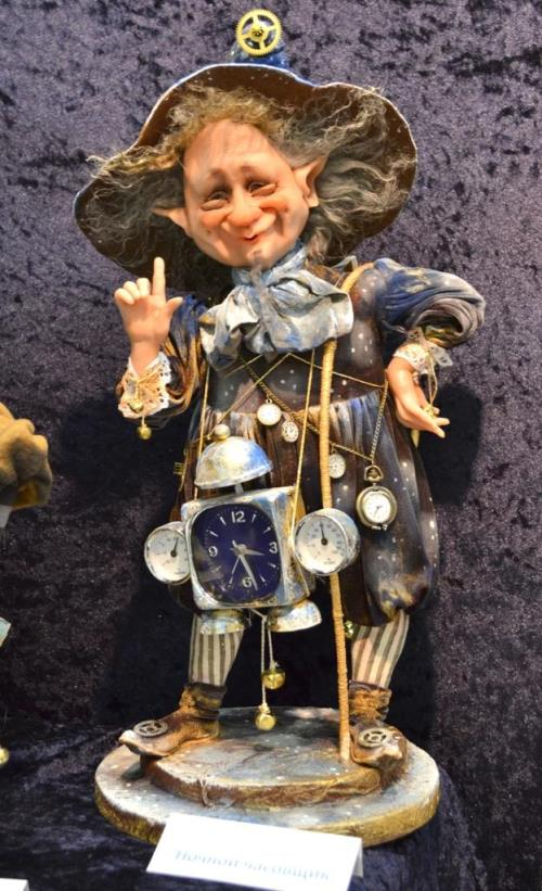 'Art of Dolls' International Exhibition in the Moscow Manege, 2013