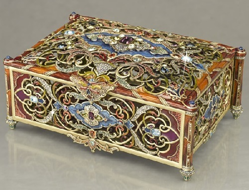 Jewelry boxes by Jay Strongwater