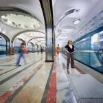 Newly opened Borisovo Metro station