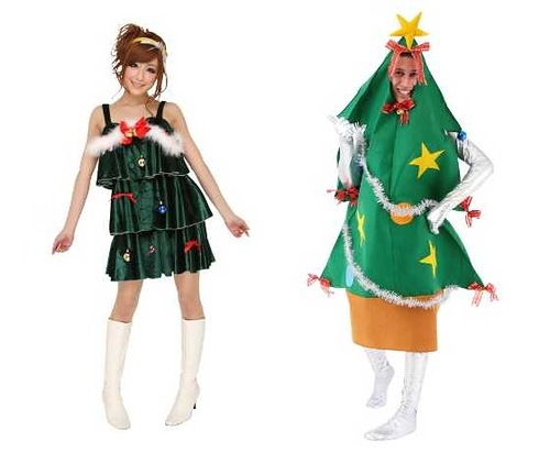 Bizarre Christmas costumes