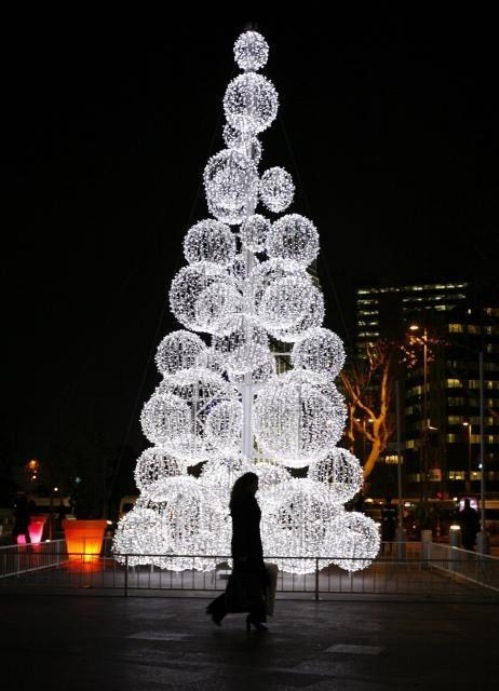 Christmas Tree in Istanbul