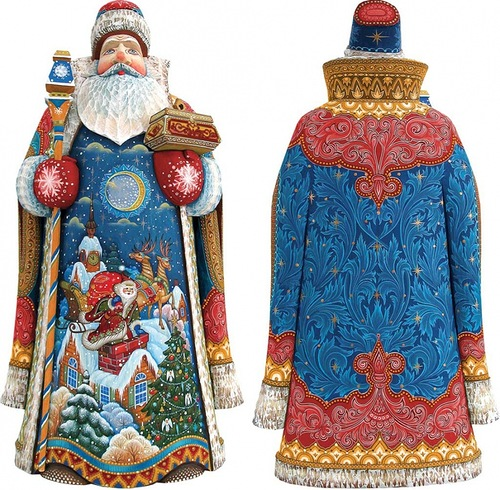 Russian Santas from Andrew and Vicka Gabriht