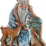 Unique Christmas decoration by 'DeBrekht Artistic Studio Russian Santas'