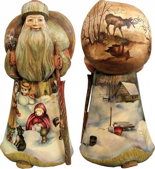 Russian Santas from Andrew and Vicka Gabriht