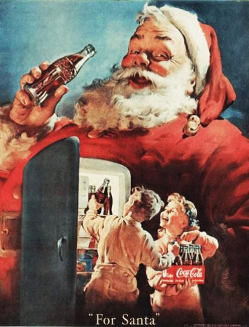 Coca Cola for Santa