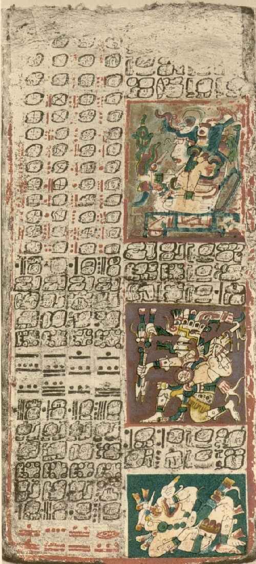 Dresden codex, page 2