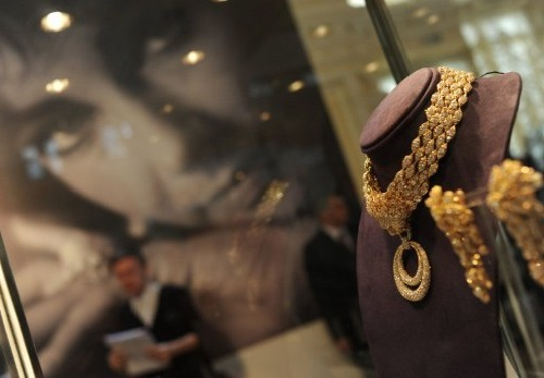 Liz Taylor's jewelry in Moscow