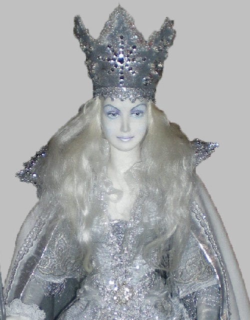 Empress doll. Museum of Porcelain doll in Moscow