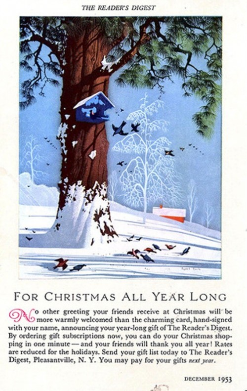 For Christmas All Year long, 1953 ads