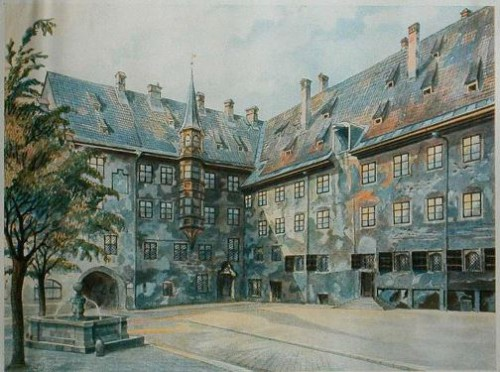 Adolf Hitler's paintings