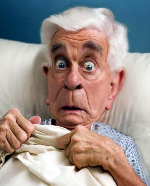 Leslie Nielsen remembered. Caricatures by Rodney Pike