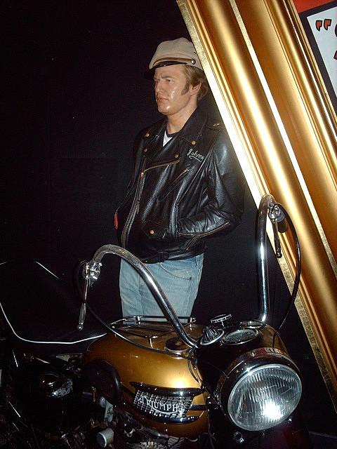 Marlon Brando - The Wild One (Madame Tussaud)