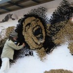 Paint Brush Mosaic Michael Jackson