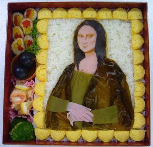 Mona Liza. Bento Art
