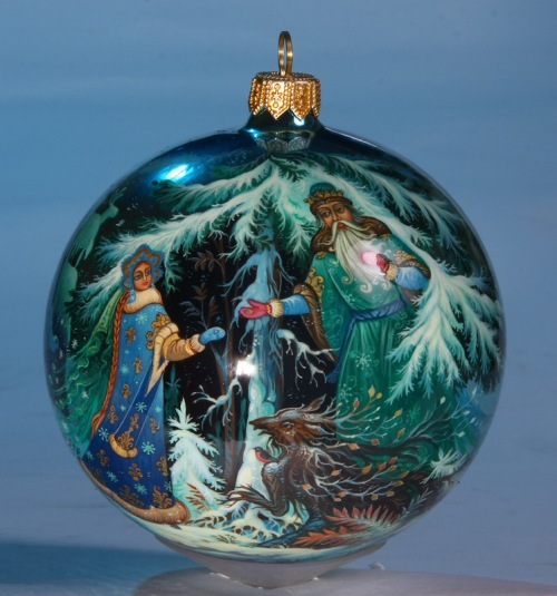 Russian Christmas Tree Ornaments
