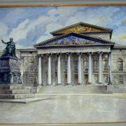 Munich Theater. 1914