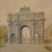 Munich. Victory Gates. 1913