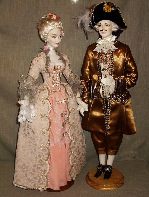 Museum of Porcelain doll in Moscow