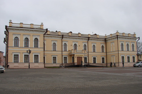 The building of the first Museum in Vologda