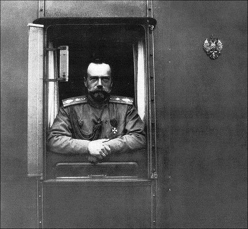 Russian Emperors train. Nicholas II