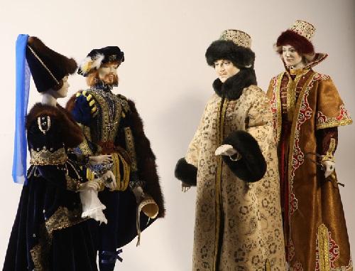 Museum of Porcelain doll in Sherbinka, Moscow region
