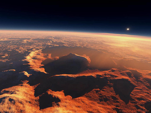 One year on Mars is equal to 687 days on Earth