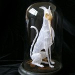 Bird-cat Fragile sculptures by English artist Polly Verity - Polyscene