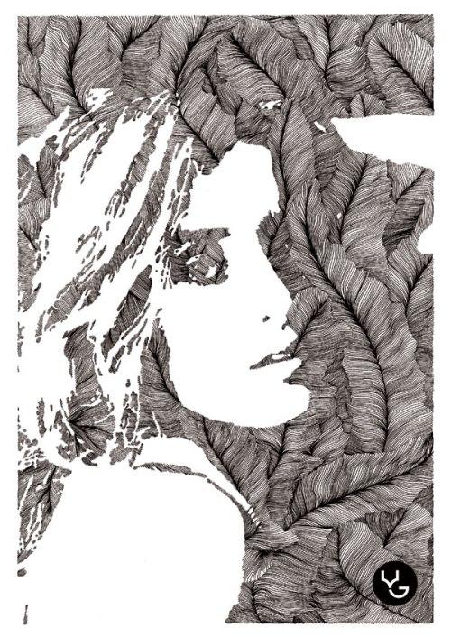 Drawings by Vasilj Godzh