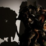 Shadow Art by British artists Tim Noble and Sue Webster